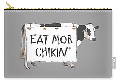Chic Filet T-shirt Carry-all Pouch