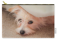 Chica In Hiding Carry-all Pouch by E Faithe Lester