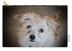 Chica On The Alert Carry-all Pouch by E Faithe Lester