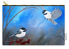 Chickadees  Carry-all Pouch