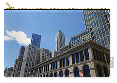 Carry-all Pouch featuring the photograph Chicago 2016 1 by Tina M Wenger