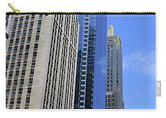 Carry-all Pouch featuring the photograph Chicago 2016 3 by Tina M Wenger