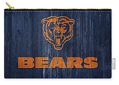 Chicago Bears Barn Door Carry-all Pouch by Dan Sproul