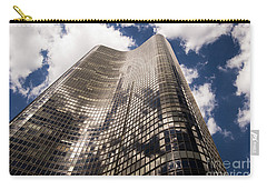 Carry-all Pouch featuring the photograph Chicago Building by Zawhaus Photography