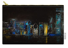 Chicago City Scene Carry-all Pouch