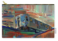 Chicago City Train Carry-all Pouch