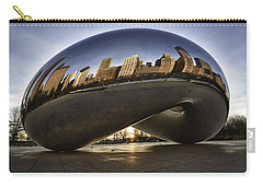 Chicago Cloud Gate At Sunrise Carry-all Pouch