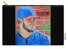 Chicago Cubs Kris Bryant Portrait Carry-all Pouch