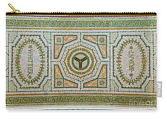 Chicago Cultural Center Ceiling With Y Symbol Carry-all Pouch