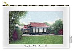 Chicago - Japanese Tea Houses - Jackson Park - 1912 Carry-all Pouch