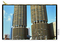 Chicago Poster - Marina City Carry-all Pouch