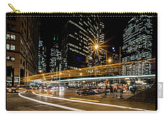 Chicago Nighttime Time Exposure Carry-all Pouch