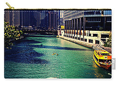 City Of Chicago - River Tour Carry-all Pouch