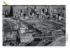 Chicago Skyline And River Carry-all Pouch