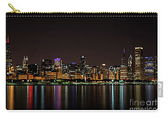 Carry-all Pouch featuring the photograph Chicago Skyline by Andrea Silies