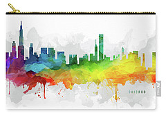 Chicago Skyline Mmr-usilch05 Carry-all Pouch by Aged Pixel