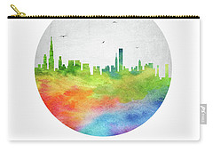 Chicago Skyline Usilch20 Carry-all Pouch by Aged Pixel