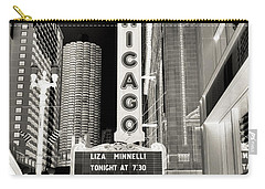Chicago Theater - 2 Carry-all Pouch by Ely Arsha