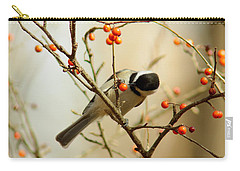 Chickadee 1 Of 2 Carry-all Pouch