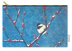 Chickadee Bird Carry-all Pouch