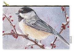 Chickadee Dee Dee Carry-all Pouch