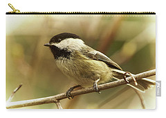 Chickadee Carry-all Pouch by Loni Collins