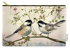 Chickadee Love Carry-all Pouch