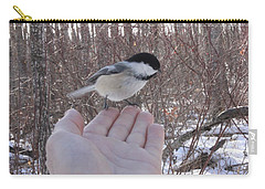 Chickadee Selfie Carry-all Pouch