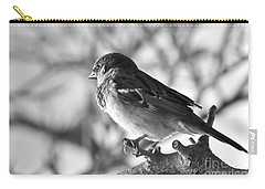 Chickadee Carry-all Pouch by Sheila Ping