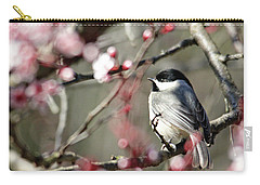 Chickadee Carry-all Pouch by Trina Ansel