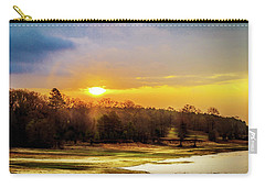 Chickasaw Sunrise Carry-all Pouch by Barry Jones