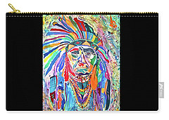 Chief Joseph Of The Nez Perce Carry-all Pouch