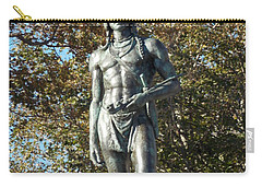 Chief Massasoit Carry-all Pouch by Catherine Gagne