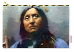 Chief Oglala Left Hand Bear Carry-all Pouch