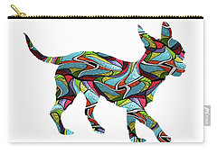 Chihuahua Spirit Glass Carry-all Pouch