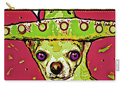 Chihuahua - I Killed A Squeaktoy In Reno Carry-all Pouch