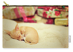 Chihuahua Puppy Christmas Dreams Carry-all Pouch