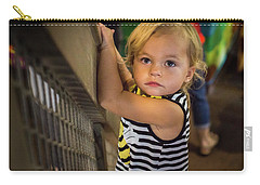 Carry-all Pouch featuring the photograph Child In The Light by Bill Pevlor