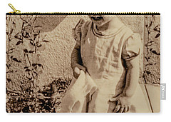 Carry-all Pouch featuring the photograph Child Of 1940s by Linda Phelps