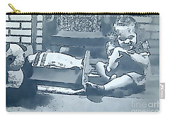 Carry-all Pouch featuring the photograph Childhood Memories by Linda Phelps