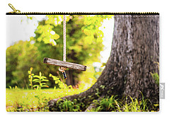 Carry-all Pouch featuring the photograph Childhood Memories by Shelby Young