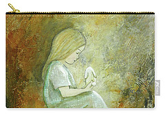 Childhood Wishes Carry-all Pouch by Terry Honstead