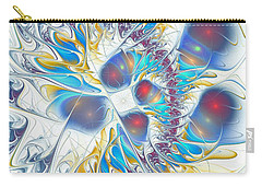 Carry-all Pouch featuring the digital art Child's Play by Anastasiya Malakhova