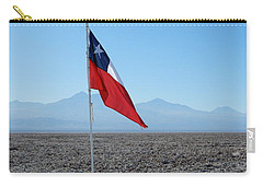 Chilean Flag Carry-all Pouch