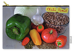 Chili Before The Pot Poster Carry-all Pouch