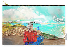 Chillin' Caricature Joe Carry-all Pouch