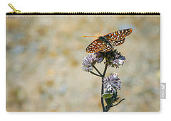 Carry-all Pouch featuring the photograph Chillin' In Color by T Brian Jones