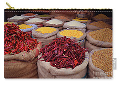 Chilliy Peppers Carry-all Pouch by Mini Arora