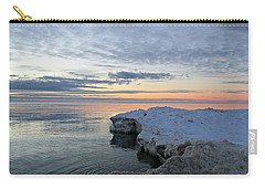 Chilly View Carry-all Pouch by Greta Larson Photography
