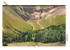 Chimney Pond At Katahdin Basin Carry-all Pouch